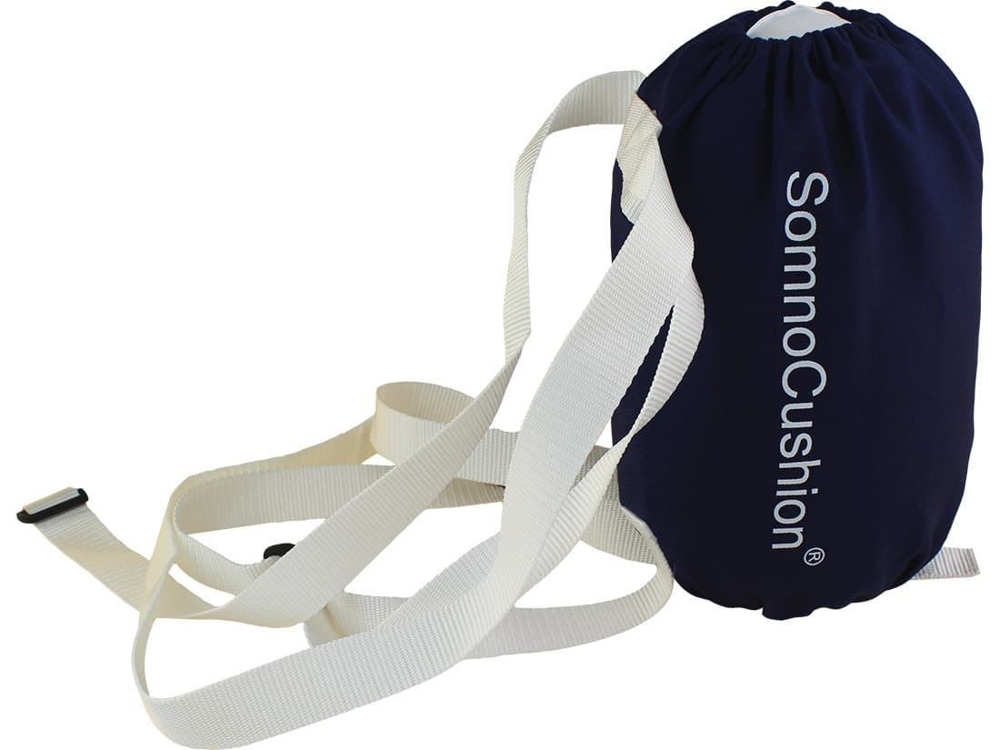SomnoCushion Standard anti snoring backpack to treat positional snoring and OSA