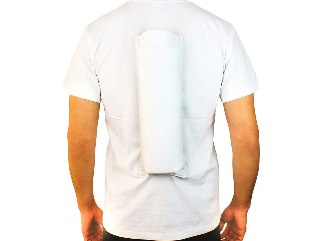 SomnoShirt anti snore shirt for the correct sleeping position for snoring & OSAS