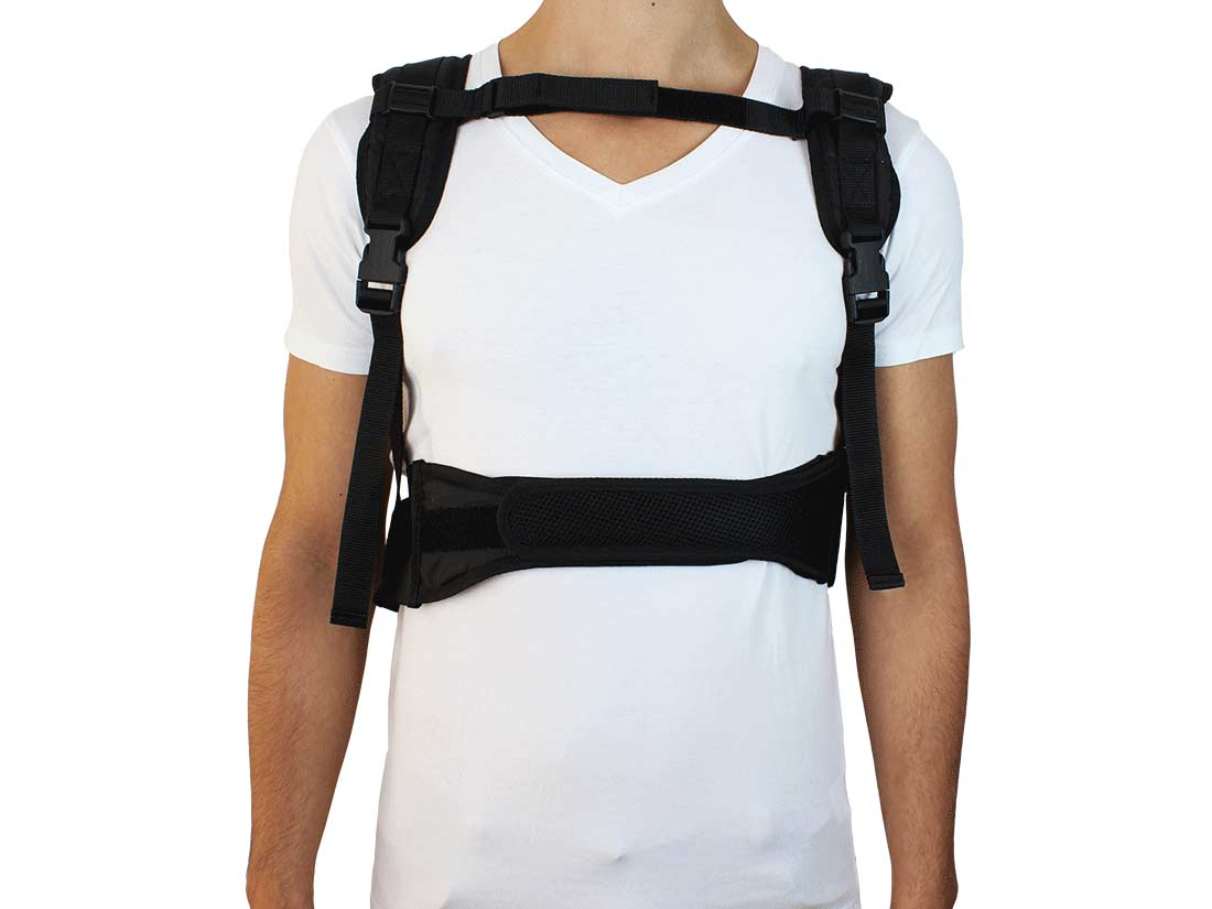 SomnoCushion Pro anti snore backpack is comparable with a sleep apnea vest against snoring and sleep apnoea