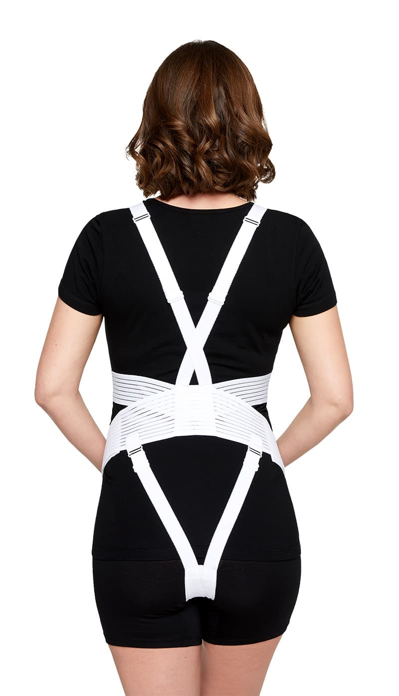 GraviBody maternity support belt to relieve pregnancy-related pain