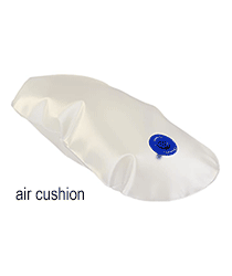 Air cushion for SomnoBelt® anti snoring belt