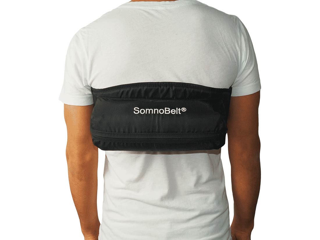 SomnoBelt sleep apnea belt to treat snoring and positional sleep apnoea